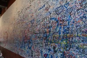 Muro de Julieta, em Verona-IT