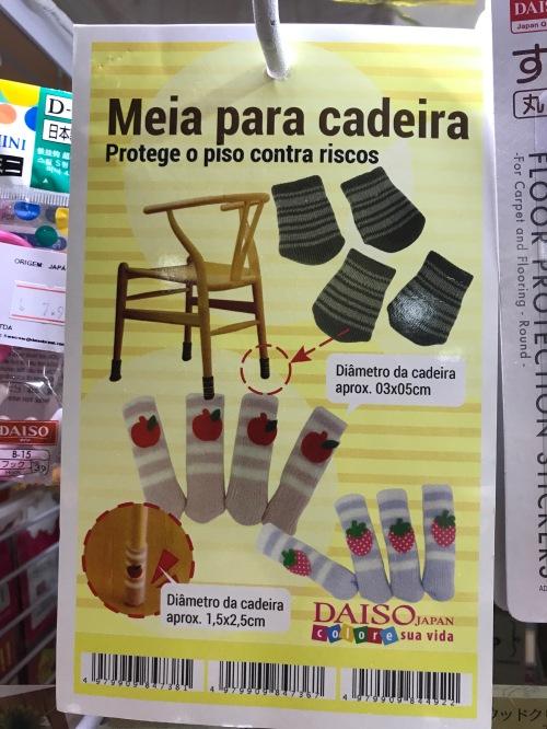 Meia p:cadeira